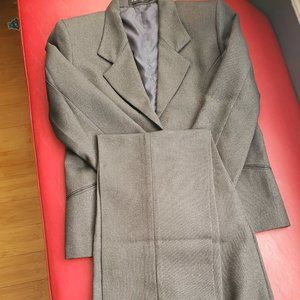 Grey (small check print) 2 Piece Business suit